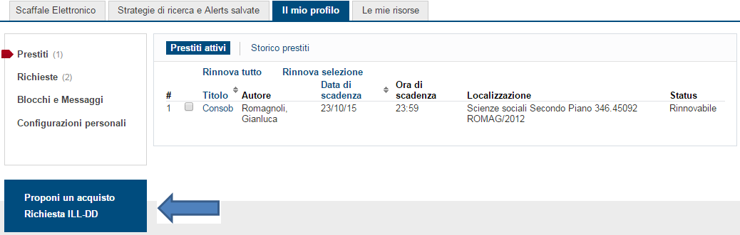 Proposte d'acquisto OneSearch Unifi