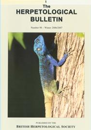 The herpetological bulletin