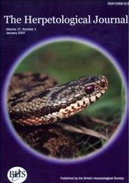 The herpetological journal
