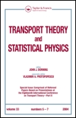 Transport theory and statistical physics