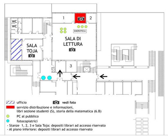 Matematica biblioteca di scienze sistema bibliotecario for Creatore del piano terra del negozio