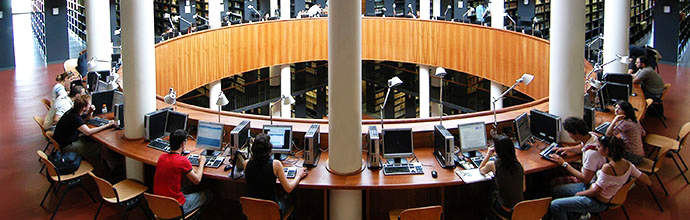Home Page of the Social Sciences Library