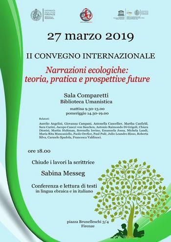 Narrazioni ecologiche invito